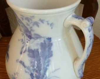 Antique Pitcher, Lavender on White, Villeroy and Boch