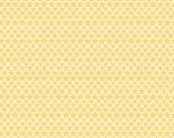 Snips & Snails Stars  Yellow by Doodlebug Designs for Riley Blake, 1/2 yard