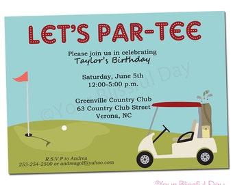 PRINTABLE Golf Party Invitation #108