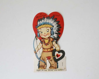 Native American Valentine