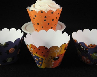 Kids Collection Halloween Cupcake Wrappers