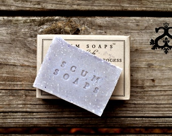 Lavandula Traditional Cold Process Bar Soap, Lavender, Lavendin, Shabby Chic
