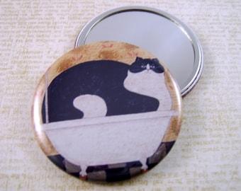 Pocket Mirror, Handmade, 100% Charity Item