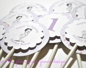 Custom Cupcake Toppers and Stickers