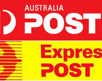 Express postage INTERNATIONAL (outside Australia) UPGRADE.