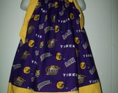 Baby Girl  Custom Boutique LSU Pillowcase Dress  Sizes Availible Newborn - 6yr