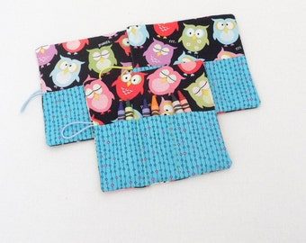 Crayon Roll Ups Party Favors for Boys and Girls Set of 3 Roll Ups
