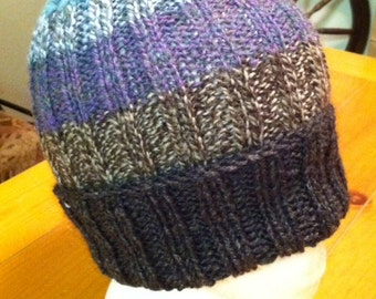 Woodinville Knitted and Handspun Hat