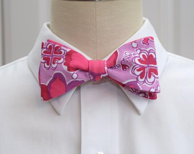 Sigma Kappa Bow Tie, lilly sorority print, sorority sweetheart bow tie, licensed sorority Sigma Kappa print, Sigma Kappa formals bow tie,