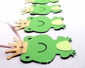 Frog Favor Tags - 12 - fairy tale collection