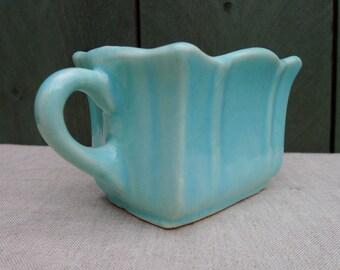 darling vintage celadon mini planter - vase - ceramic
