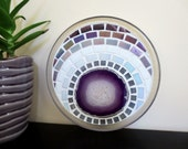 Mosaic Trivet - Candle Holder, Agate Slice, Jewelry Tray, Glasswork, Mosaics