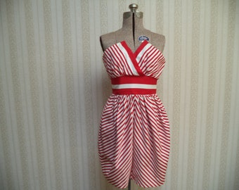 Vintage Strapless Bombshell Dress
