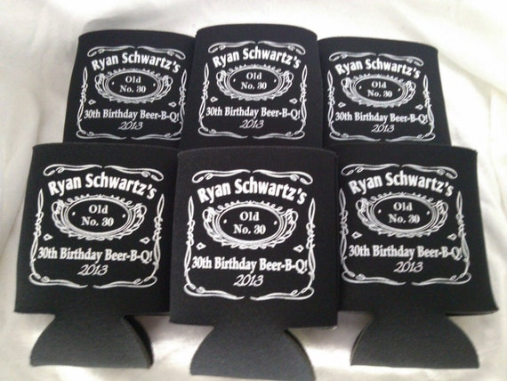 Lot 100 personalized Birthday koozies custom can party favor - Design ...