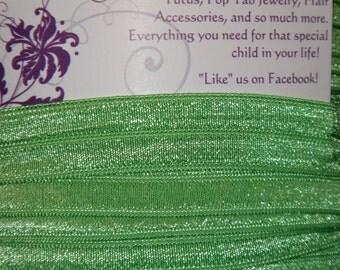 """5/8"""" FOE  Spearmint Green Elastic 5/8 inch"""