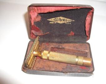 Gillette Vintage Razor 1930's
