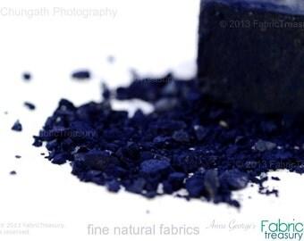 Indigo cake for shades of soulful Blues in indigo. Natural Dye. 1.1lb. / 500g. On Etsy Blog. Harvest of May 2016.  Freshest dyes. Always.