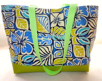Reserved for Lindsey Tropical Beach Tote Bag