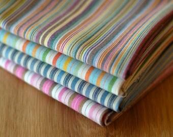 Fat Quarter Bundle- Woven Stripes