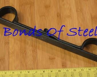 Long Bar Handcuffs Restraint Bonds of Steel Mature
