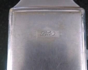 Vintage Robson Master Cigarette Case and Lighter