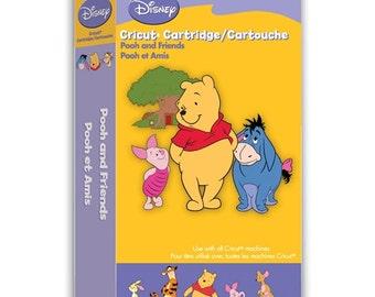 Cricut Cartridge   Winnie the POOH AND FRIENDS Disney