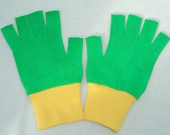 Pokemon Costume Ash Ketchum Trainer Gloves choose your color