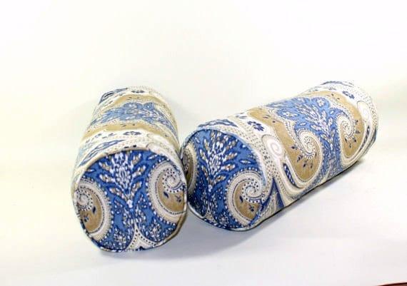 6x16 Bolster Pillow Cover Kravet Latika In Delta Linen