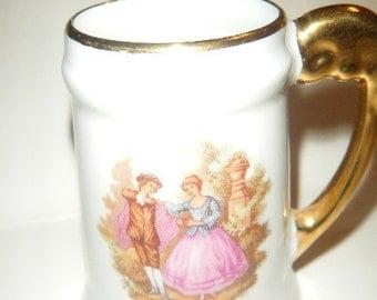 Bardet Limoges Miniature Mug