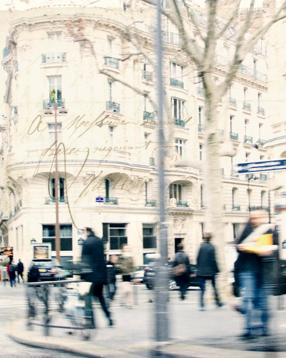 Paris Photography -Paris Decor- 12x12 Print- Paris Scene-Fine Art Photography