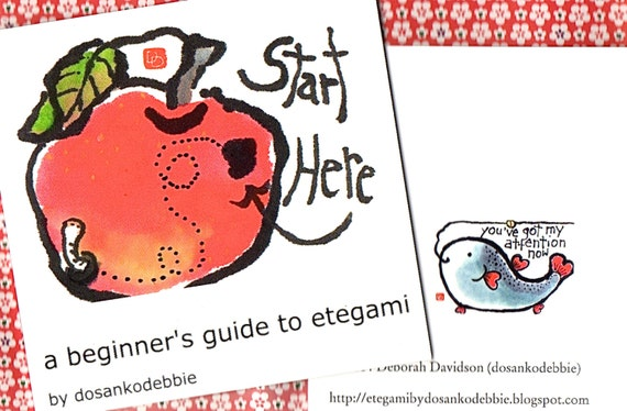 A Beginner's Guide to Etegami (print book or digital version)