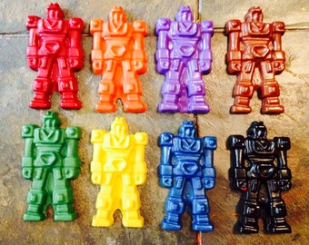 Transformers Inspired Crayons set of 8