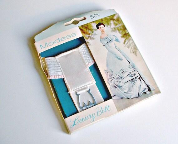 Belt Vintage Vintage Sanitary Belt Modess