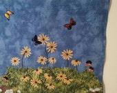 Landscape Art Quilt; Spring Awakening