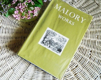 Book Sir Thomas Malory Works Second Edition Ed. Eugene Vinaver 1971