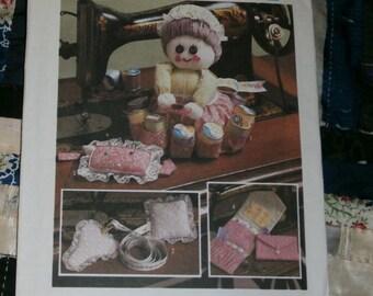 Cute 1984 Simplicity Craft Pattern 6696, Cute Sewing Accessories Uncut, Factory Folds