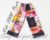 Kids Easy FUN Pants Pattern