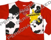 Personalized Cowboy & Cowgirl Beware, the Sheriff is Coming Short Sleeve (Classic/ Boy)