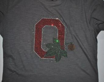 Ohio State Buckeye Bling Tee