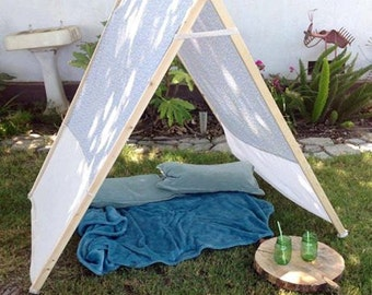 Kids Meduim A-frame tent/ indoor/outdoor/prop tent