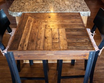 Pallet Wood Bistro Table