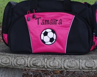 Personalized Duffle Bag  SOCCER BAG Sports BAG  Dance Bag  Sports Duffle