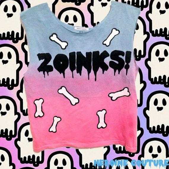 Customizable Zoinks T-shirt, Tank Top or Crop Top