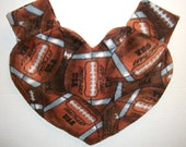 Football Print Heart Shaped Lovers Mitten Snuggle Down For Warm Romantic Walks And At Your Favorite Team's Game