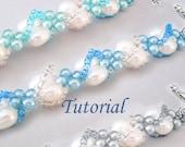 Beads Beading Tutorial - Beaded Seashells Spiral Bracelet