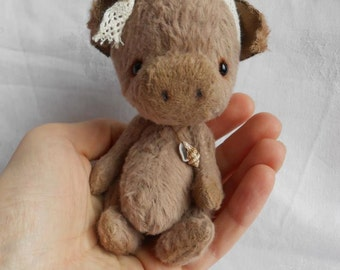 "PDF File  Sewing Pattern for 5 Inch Piggy ""Clarysse"""
