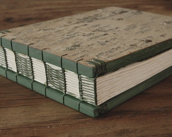 birch wedding guest book - journal wood book - rustic cabin guest book memorial guestbook vacation home unique wedding gift - made to order