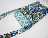 Reversible Sling Purse, Made To Order, Cross Body, IPAD case, Diaper Purse