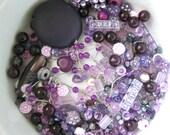 Bead Mixed Lot - Purples