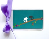Kitten Luggage Tag - Cat Carrier Bag Tag